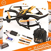 zoopa Acme Q 165 Riot Indoor Quadrocopter | with Integrated 360 Degree Flip Function (ZQ0166)