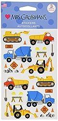 Mrs Grossman Stickers-Construction Equipment