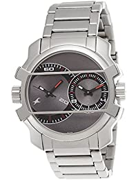 Fastrack Heritor Analogue Automatic Black Dial Men's 'Frederick' Chinese Stainless Steel And Leather Watch (Model...