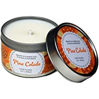 Northumbrian Candleworks Pina Colada-Candela profumata (Rum, cocco,