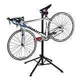 ROCKBROS Fahrrad Montageständer Reparaturständer Fahrradständer Fahrradmontageständer Ständer Mit Abnehmbarer Werkzeugablage Werkzeugständer verstellbar und klappbar Für Meisten Fahrräder