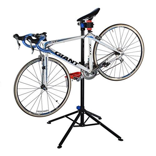 ROCKBROS Pied D'atelier Vélo Support de Montage pour VTT Réparation Hauteur Réglable Outils velo...