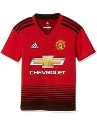 70ec9aae8 adidas Unisex Kids Manchester United Fc Home 1 4 Short