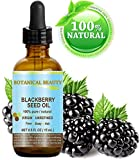 BLACKBERRY SEED OIL 100% Pure / Natural / Virgin/ Unrefined. Cold Pressed / Undiluted Carrier Oil. 0.5 Fl.oz -15 ml. 'One Of The Richest Natural Sources Of Vitamin C And A Remarkable And Stable Source Of Omega 3 And 6, Vitamins E And Minerals. Strong Antioxidant.'
