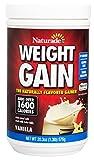 Naturade Complément alimentaire en poudre Weight Gain - Pour prise de poids - Riche en protéines, calories et acides aminés - Sans sucre - 500 ml