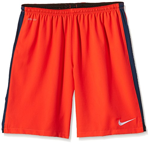 Nike Athletic & Outdoor Clothing Squad Strike Lgr Wvn Short White Bright Crimson/Blue Force/White Size:XXL