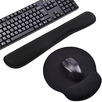 Ergonomische tastatur und maus  Mauspad und Tastatur-Pad im set Maus Handballenauflage: Amazon.de ...