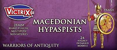 Victrix VXA021 - Macedonian Hypaspists - 27 Figure Set - 28mm Plastic Miniatures - Warrior of Antiquity