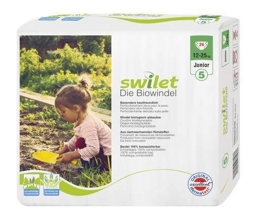 Rogges Wilogis Bio Babywindeln - Swilet Gr. 5 - Junior (12-25 Kg