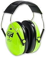 Peltor Kids Ear Muffs Headband - Neon Green