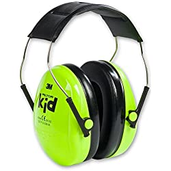 3M Peltor Kid - Casque antibruit idéal pour enfants sensibles aux bruits forts - Atténuation 27 dB - 1 x casque de protection auditive vert