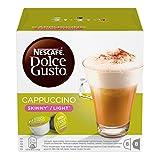 Nescafé Dolce Gusto - Cappuccino Light - 3 Paquetes de 16 Cápsulas - Total: 48 Cápsulas