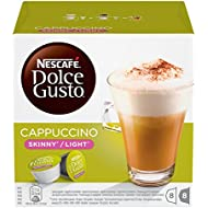 NESCAFÉ Dolce Gusto Skinny Cappuccino,  Pack of 3 (Total 48 Capsules, 24 Servings)