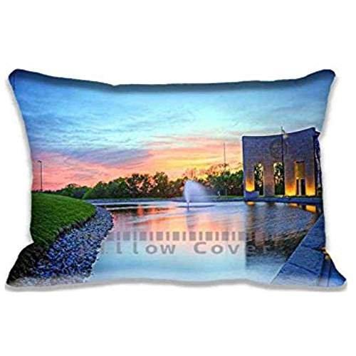 bob-dole-librarylawrencekansas-pillow-cases-covers-king-size-comfortable-rectangle-pillowcases-20x30
