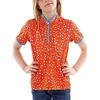 CMP Cilindro de función Camiseta Corta deportiva para Rojo cremallera dryfu nction Talla 1403C92055