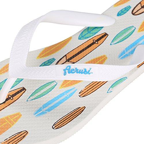 Aerusi , Chaussons pour femme Bleu surf
