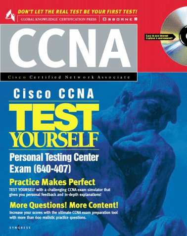 Cisco CCNA: Test Yourself Personal Center por Inc. Syngress Media