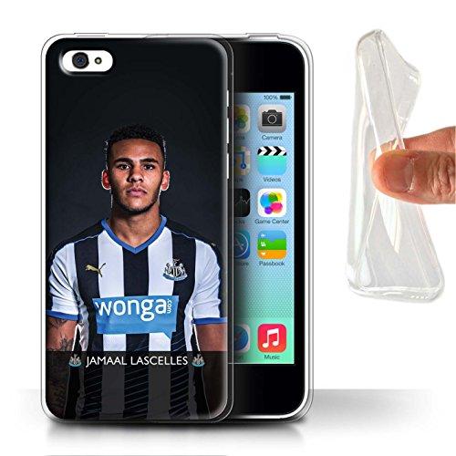 Offiziell Newcastle United FC Hülle / Gel TPU Case für Apple iPhone 5C / Colback Muster / NUFC Fussballspieler 15/16 Kollektion Lascelles
