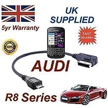 Cable para Blackberry AUDI R8 Series AMI MMI Q10 4F0051510M Cable MICRO-USB
