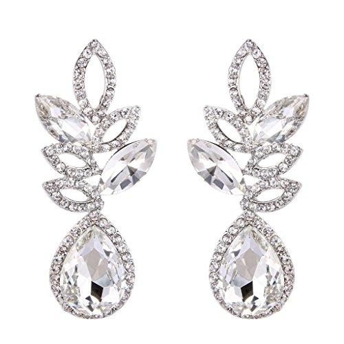 clearine-elegant-mariage-bijou-goutte-deau-boucles-doreille-foliaire-transparent