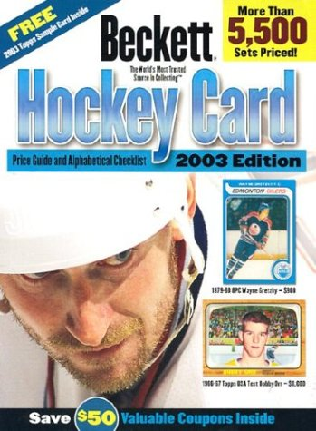 Beckett Hockey Card Price Guide & Alphabetical Checklist: Includes Prices and Listings from 1910 to Present! (BECKETT HOCKEY CARD PRICE GUIDE AND ALPHABETICAL CHECKLIST)