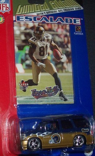 saint-louis-rams-nfl-diecast-2005-cadillac-escalade-with-torry-holt-fleer-ultra-trading-card-by-nfl