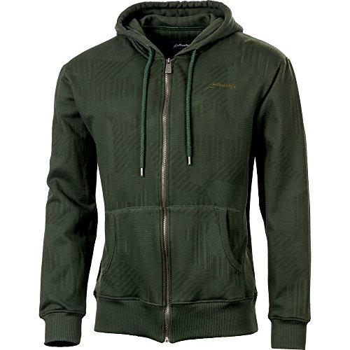 Preisvergleich Produktbild Albatros 264240-667-L Sweatshirt-Jacke Scout Größe L, Oliv / Schwarz, L