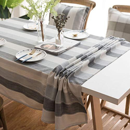 YCAZSH Manteles Mantel Decorativo Impermeable Cubierta Rectangular de Mesa de Comedor Mesa...