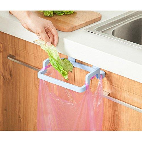 Kicode Müllsäcke Gestell Küche Trash-Beutel-Halter für Hanging Schrank-Tür Zurück Style Stand (Schrank-tür-speicher)