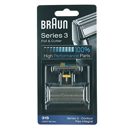Produktbild Braun 072829 31S ORIGINAL SET Kombipack Scherblatt + Klingenblock 5000 Series 3 Contour Flex Integral z.T. 390cc 370 5895 5875 Rasierer