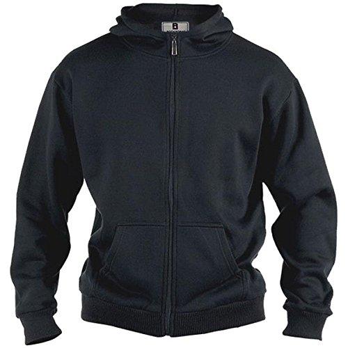 zen Sweat-Jacke schwarz in Übergrößen: Farbe: schwarz | Größe: 58/2XL ()