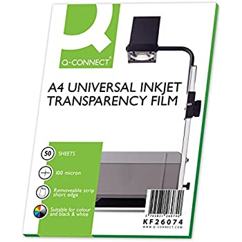 Avery Zweckform 2502 Overhead Projector Transparencies DIN A4 with ...