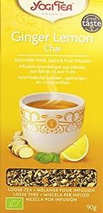 Yogi Tea Thé Bio Chai citron gingembre en vrac 90 g