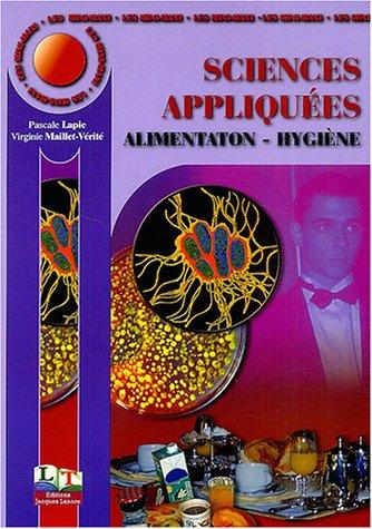 Sciences appliquées : Alimentation - Hygiène