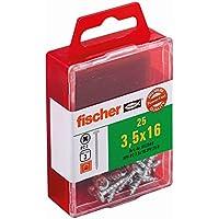 Fischer gigafish-Fast, 3,5 x 16, Panhead galvanizada PZ Box, 652849