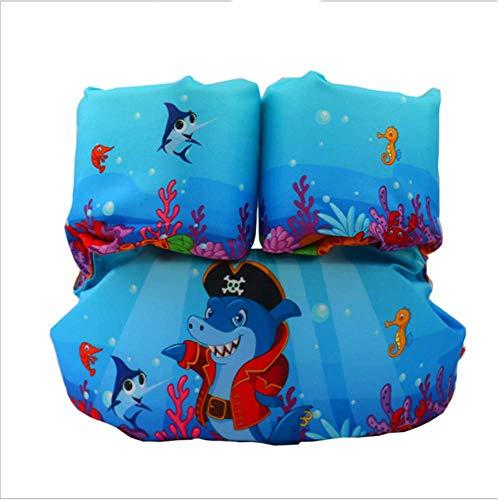FDGT Blue Hai Kinder Schwimmen Arm Kreis Kleinkind-Baby-Schwimmanlage Schwimmen Kreis Blase Mu Sleeves Schwimmweste