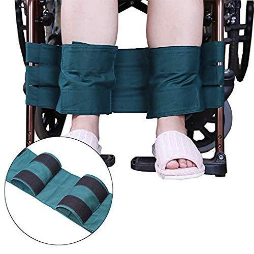 Rollstuhl-Fußstütze, Bein-Halteband, Rollstuhl-Sitzgurt, medizinische Sicherheit, Transport, Fußstützgürtel für Behinderte und Senioren, Handicap Zubehör