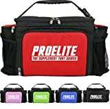 PROELITE 6 Meal Bag / Cool Bag / Meal Management System / Gym Holdall / Food Organizer Box (Pink)