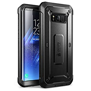 SUPCASE Full-Body Rugged Holster Unicorn Beetle PRO Series Case with Built-in Screen Protector for Galaxy S8+ Plus