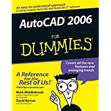 AutoCAD 2006 For Dummies by Middlebrook, Mark, Byrnes, David (2005) Paperback