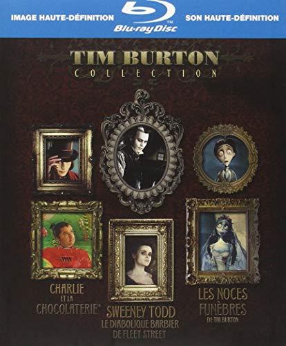 Coffret Tim Burton 3 Blu-ray [Blu-ray]
