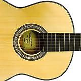 COBAN Elektro-Akustik Klassik Gitarren nur mit EQ (natur-Reflex Seidenmatte)