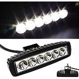 18 W EP LED Foco Lámpara Inundación LED Led para coches Luces moto coche Faros Luz de trabajo Jeep Barco SUV Pesca