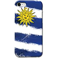 TBL Uruguay National Flag Design Matte Hard Case Cover For iPhone 7 7S [Scratch Resistant