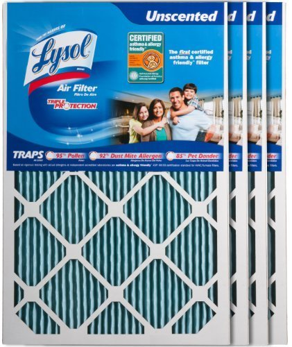 lysol-10001-204-0008-air-filter-triple-protection-16-inch-x-24-inch-x-1-inch-4-pack-by-lysol