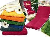 Schonbezug für Gartenstuhl & Gartenliege aus dem Hause Dyckhoff - erhältlich in 6 sommerlichen Farben - mit Kapuze für besseren Halt, Gartenstuhl (60 x 130 cm), bordeaux