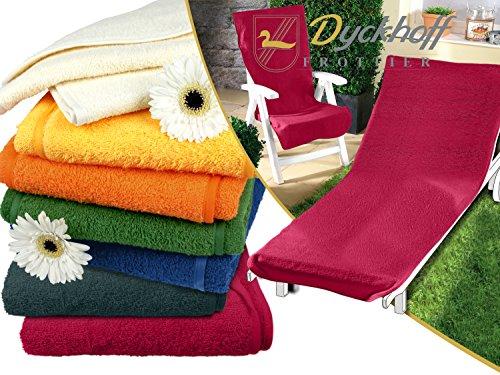 Schonbezug für Gartenstuhl & Gartenliege aus dem Hause Dyckhoff - erhältlich in 6 sommerlichen...
