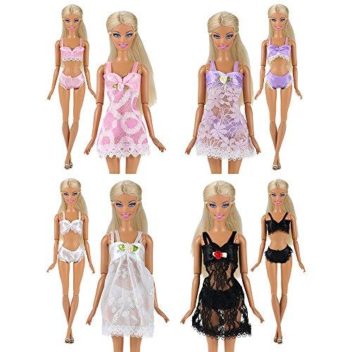 8d1d25794a2d YeahiBaby Muñeca Barbie Ropa y Zapatos   Casa de muñecas Accesorios ...