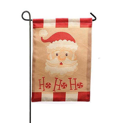 MAYOGO Deko Weihnachten Garten Weihnachtsmann Flagge Outdoor Hof Bunting Deko About 32 * 46cm -
