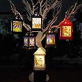 AchidistviQ Weihnachtskerze mit Tee licht Kerzen für Weihnachtsdekoration Teil Auß Hnliche Beleuchtet Adventsschmuck Deer#